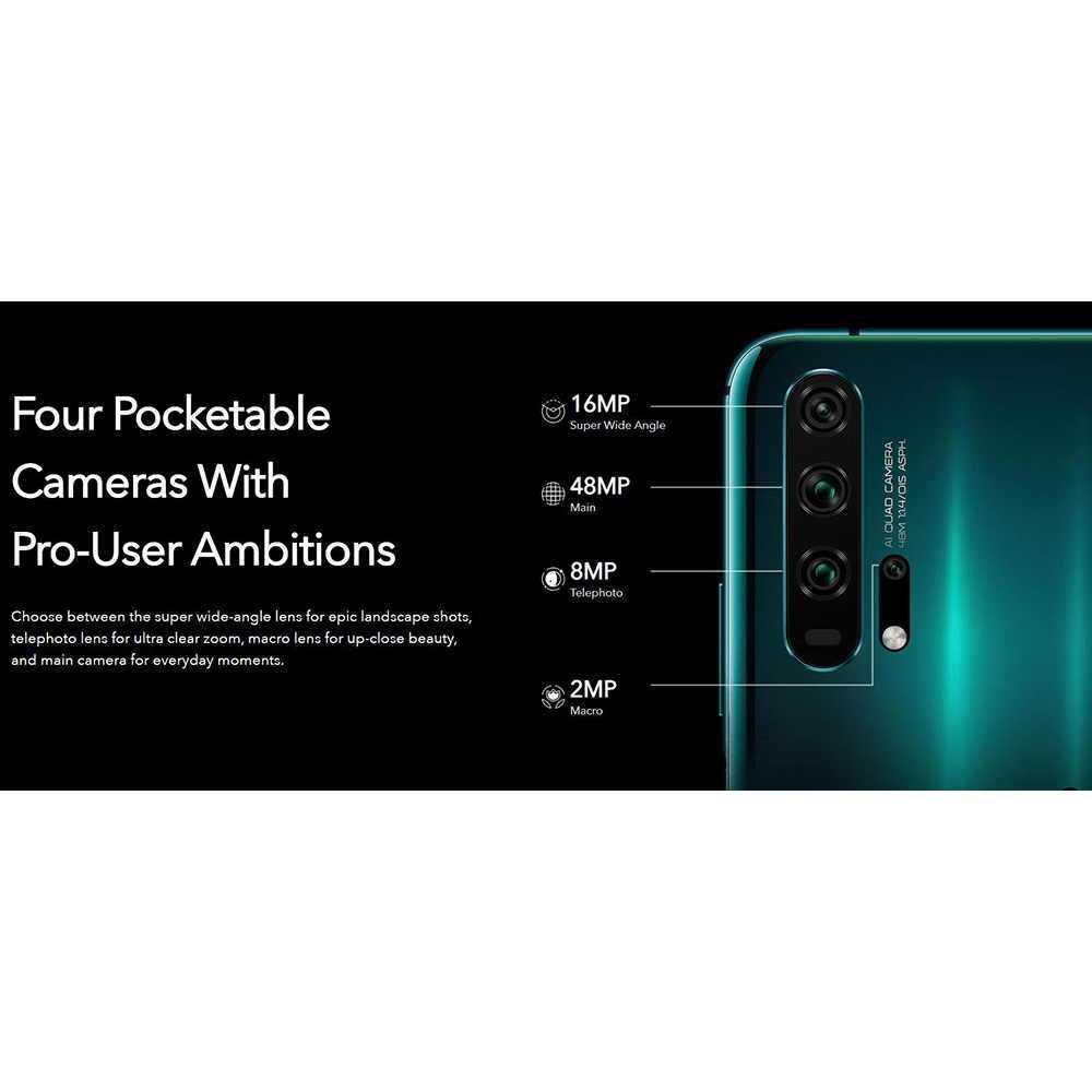 Представлены смартфоны honor 20 и honor 20 pro: четыре камеры, kirin 980, 8 гб озу и аккумулятор 4000 мач