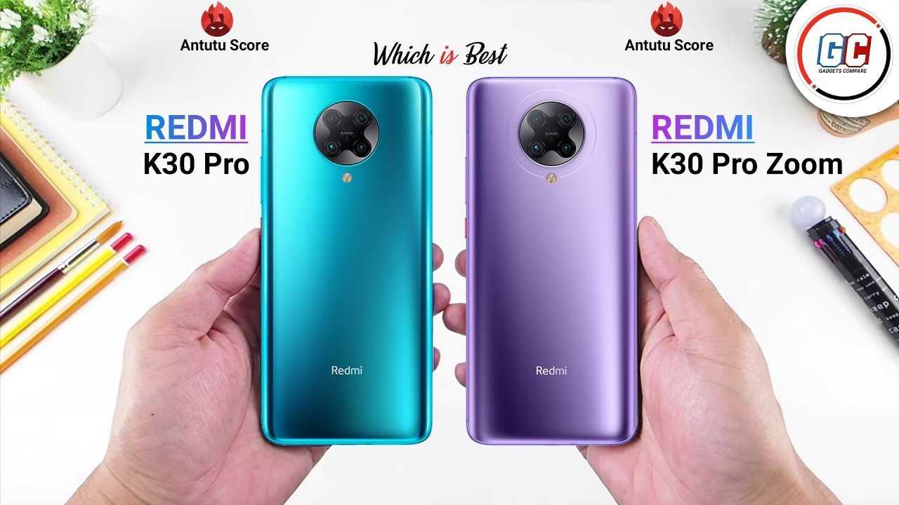 Redmi k30 pro и k30 pro zoom официальные: технические характеристики и цены