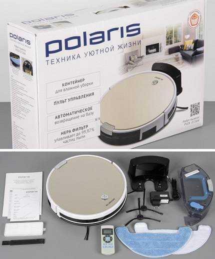 Пылесос-робот polaris pvcr 0920wv rufer