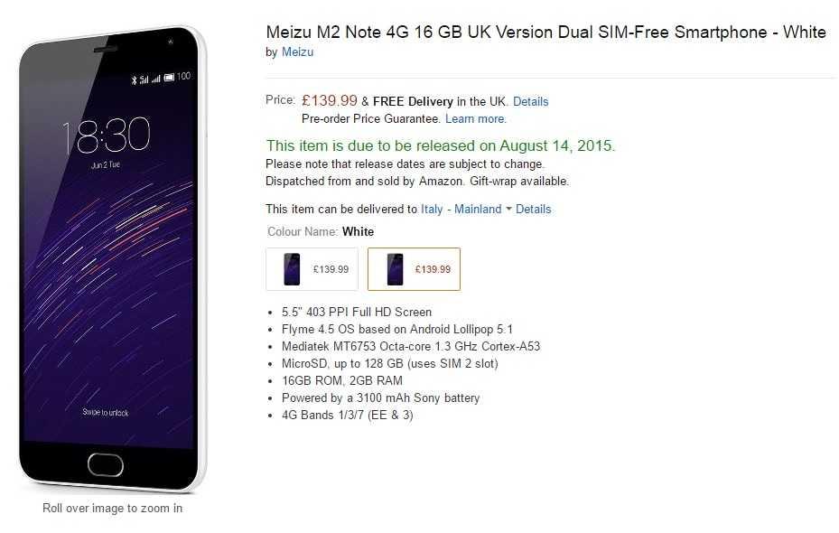 Компания Meizu продолжает радовать своих пользователей интересными гаджетами Девайс серии POP2s стоит всего 45 долларов При этом модель способна порадовать покупателей