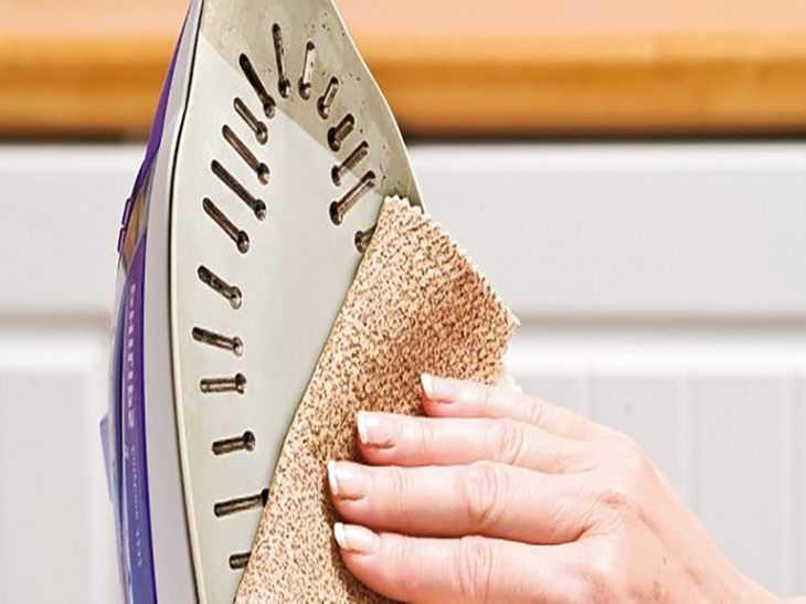 Как очистить утюг от пригара на подошве в домашних условиях