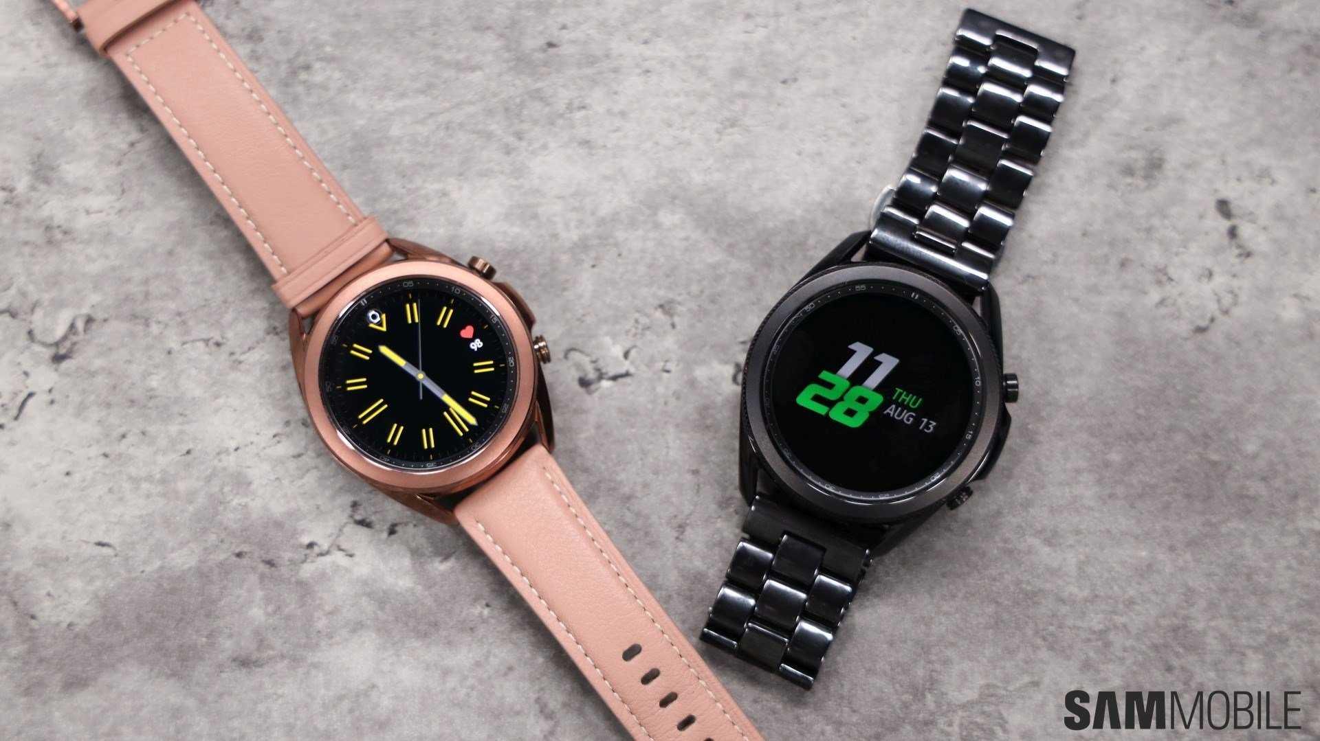 Какие умные часы лучше - galaxy watch или apple watch?