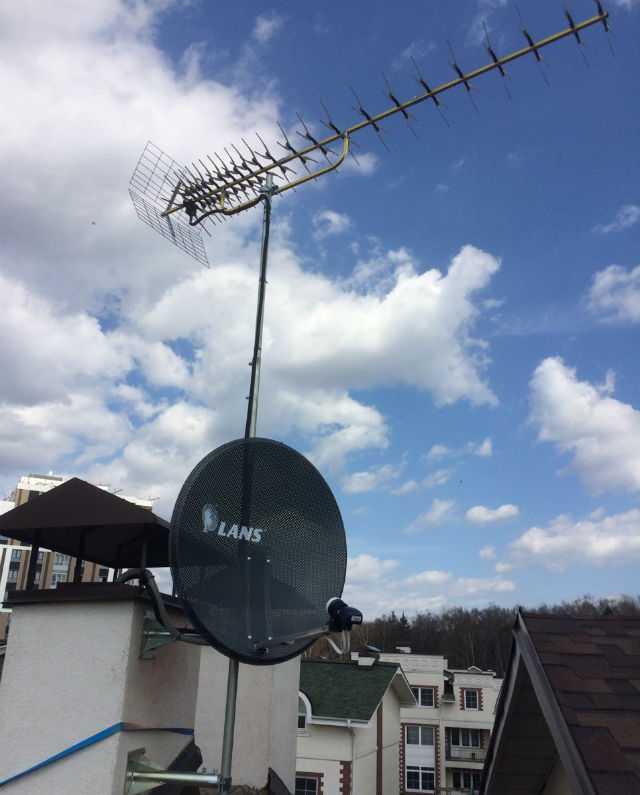 Антенна для цифрового телевидения на дачу - какую выбрать