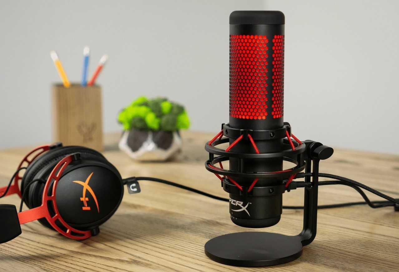 Hyperx quadcast —  микрофон для стримов