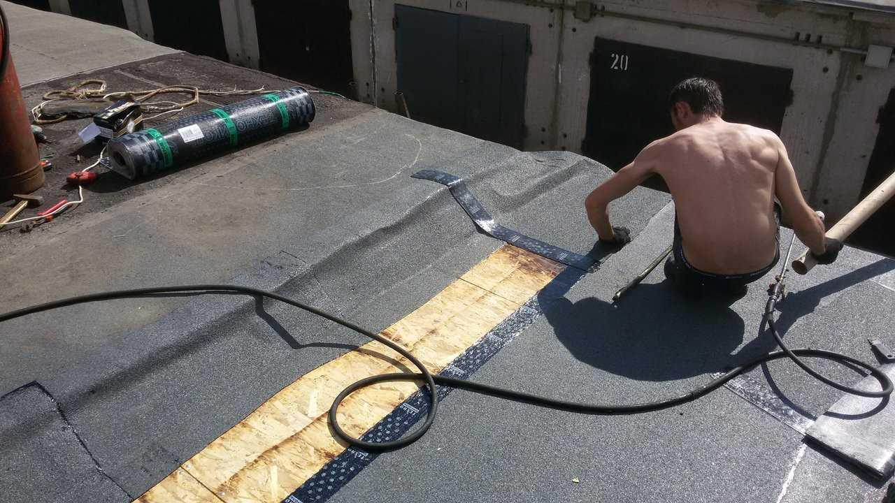 Чем покрыть крышу гаража: какой материал лучше для кровли, ремонт, покрытие бетонной крыши, фото-материалы