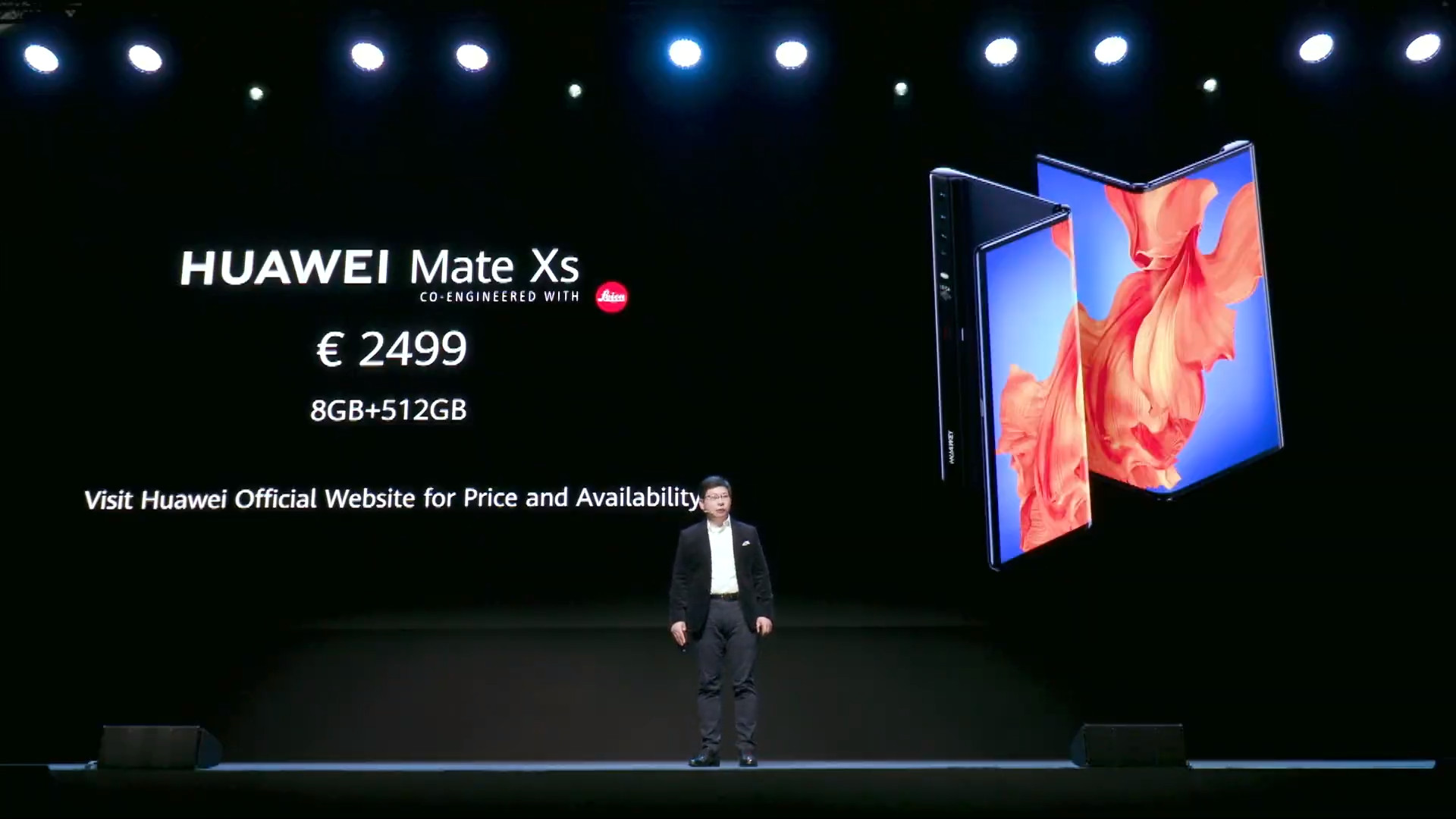 Huawei отложила запуск складного смартфона mate x