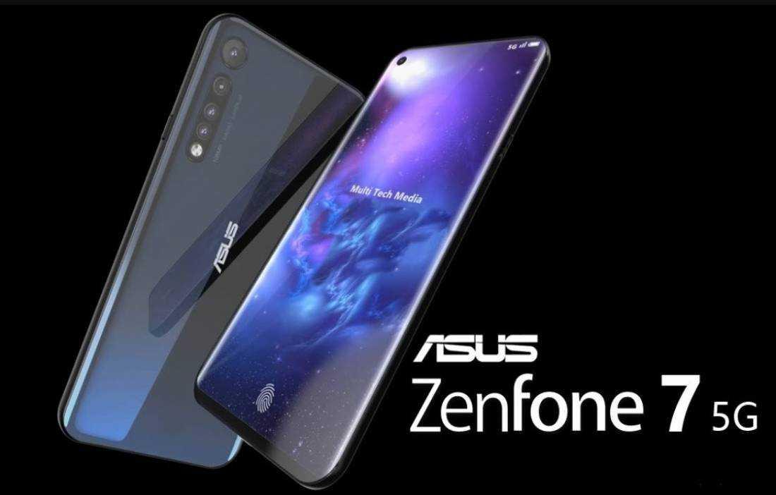 Ранее сообщалось что компания Asus выпустила два смартфона включая Zenfone 7 иZenfone 7 Pro Как и предыдущее поколение используется камера-перевертыш которая
