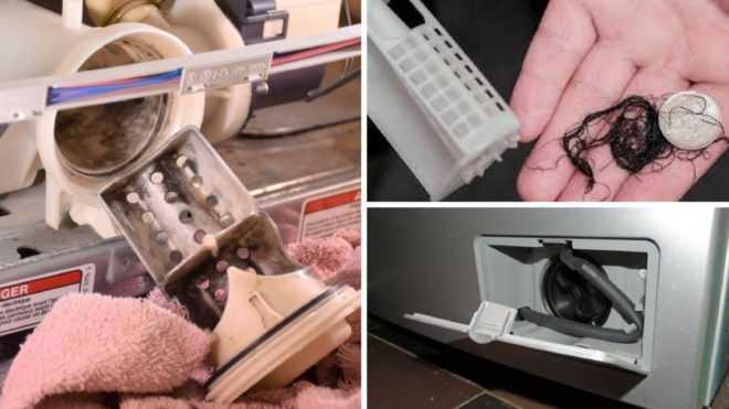 Как почистить фильтр в стиральной машине lg? этапы чистки. как снять сливной фильтр в машинке? где он находится?