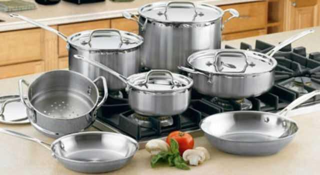 Кухонная посуда из нержавеющей стали: преимущества капсулированного дна изделий и рейтинг производителей