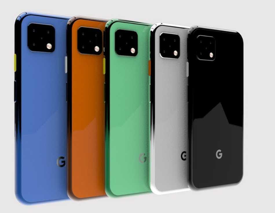 Рендеры google pixel 4 в новом дизайне - androidinsider.ru