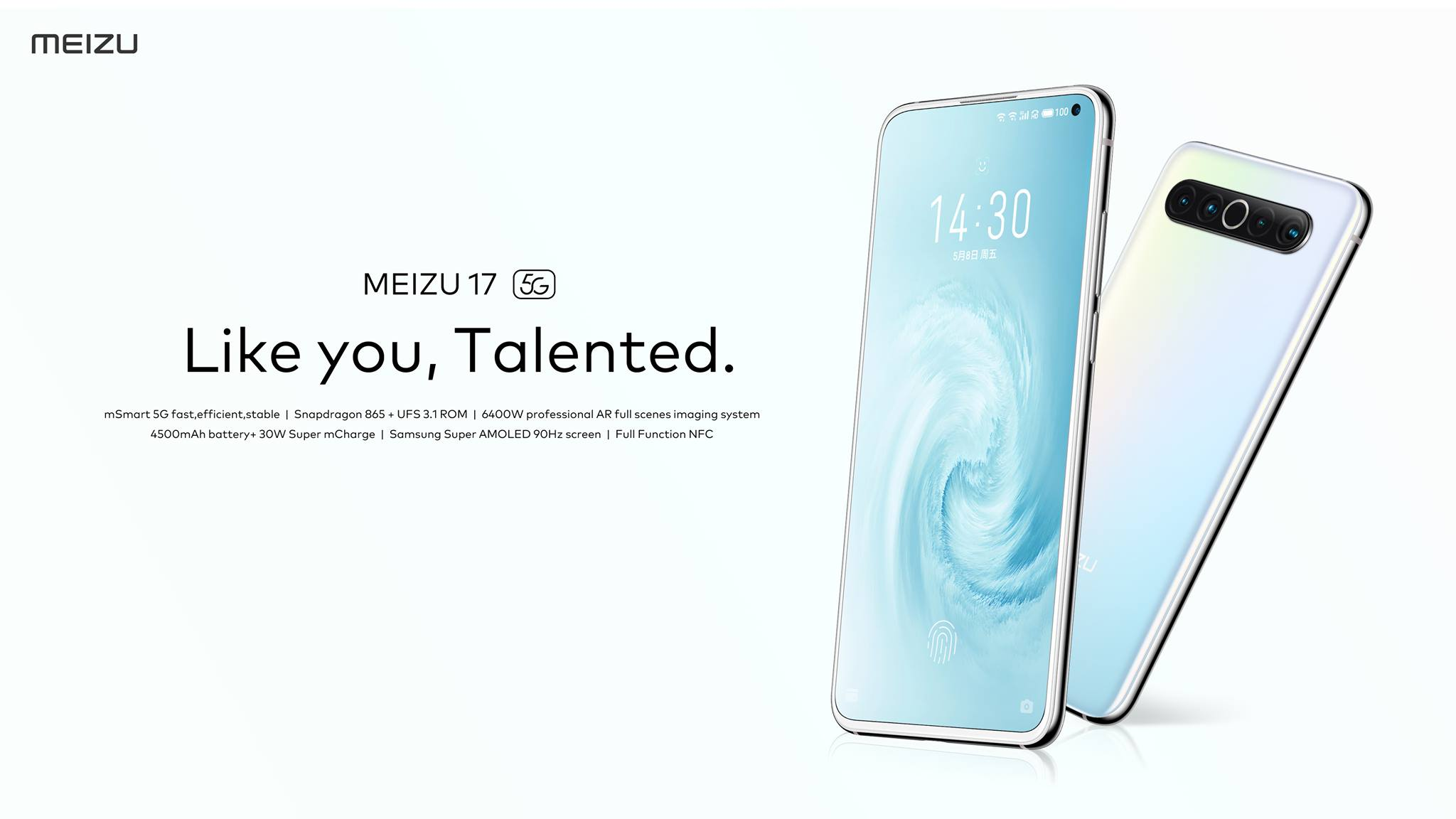 Компания Meizu наконец-то решила поделиться информацией на предмет своего обсуждаемого флагмана 17mSmart 5G На протяжении нескольких месяцев в сети появляются утечки