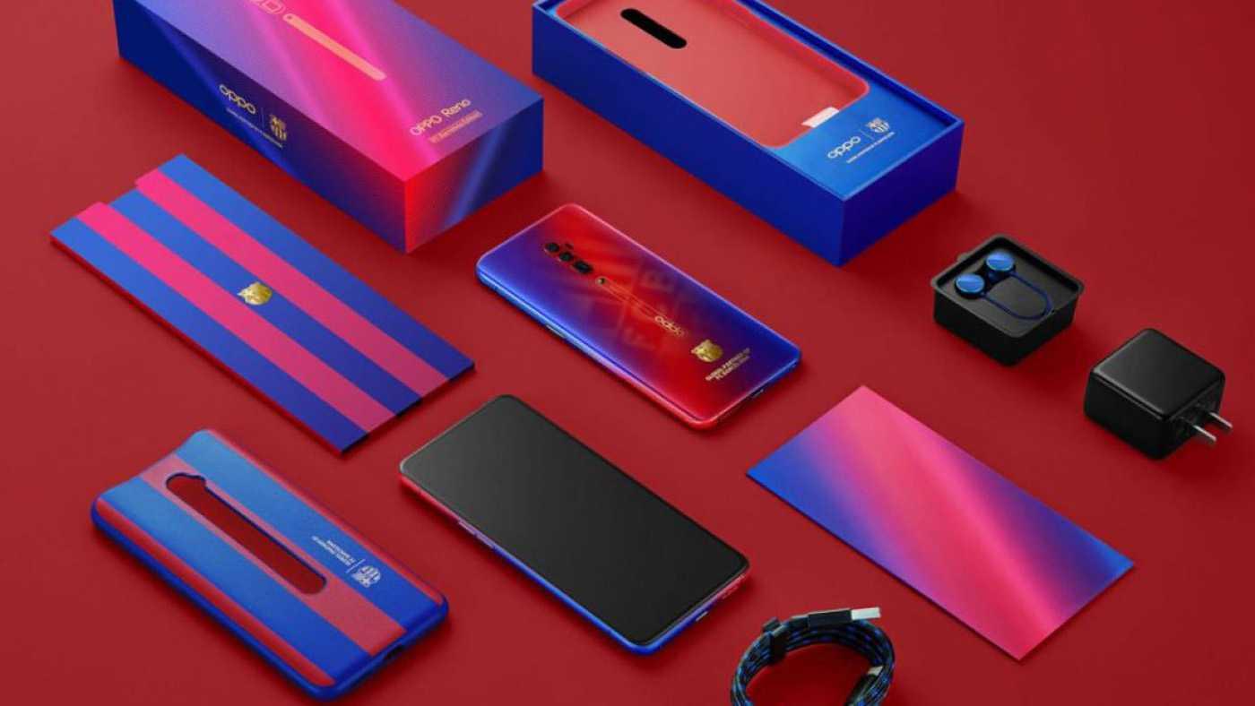Oppo и фк «барселона» выпустили лимитированный смартфон и продлили партнёрство ► последние новости