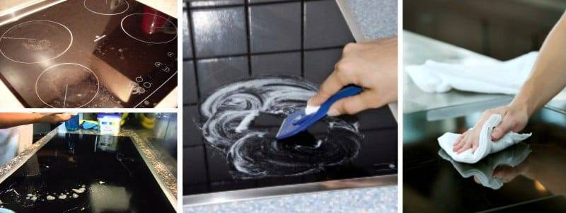 Как очистить стеклокерамическую плиту | идеальный дом