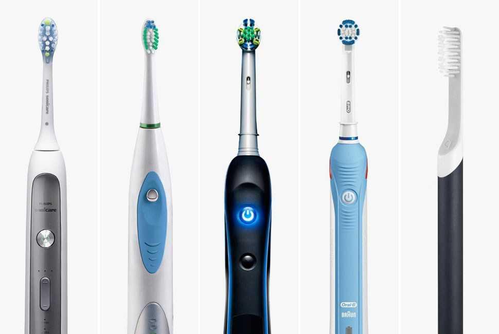 Как выбрать хорошую электрическую зубную щётку для взрослого - много зубов