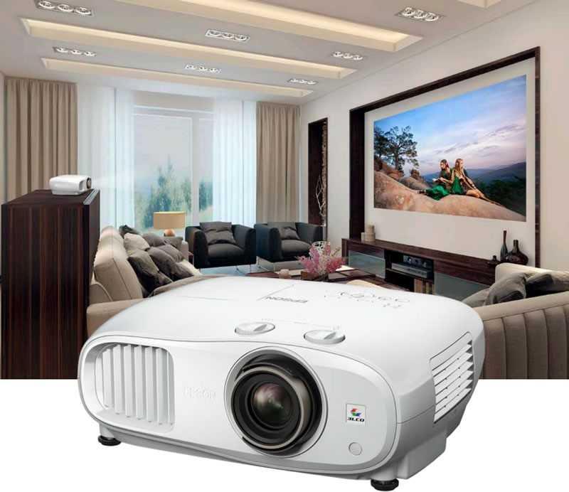 Как выбрать мультимедийный проектор для домашнего кинотеатра