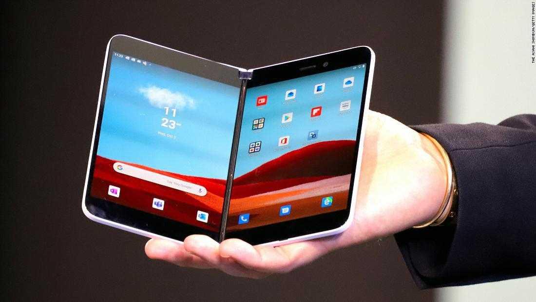 Microsoft рассекретила цену своего первого android-смартфона surface duo. видео - cnews