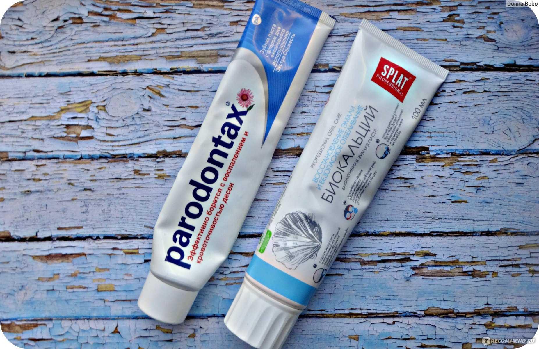 Лучшие лечебные зубные пасты