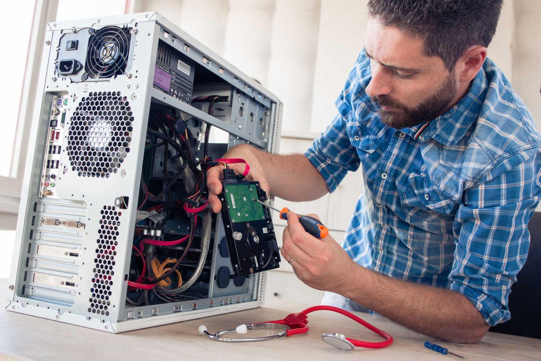 Корпоративный компьютер для работы в офисе - бренд или самосбор?