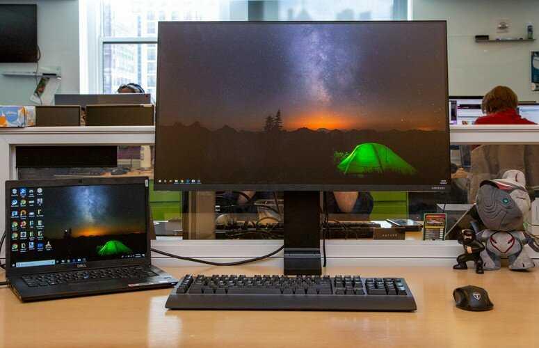 Samsung space monitor обзор