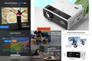 В продаже появился новый бюджетный проектор стоимость которого составляет всего 179 долларов Речь идет о продукте под названием AUN AKEY7 Young и этот аппарат уже