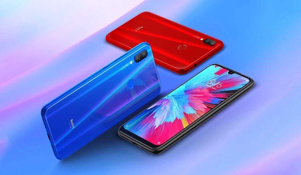 Версии смартфона redmi note 7 и redmi note 7 pro