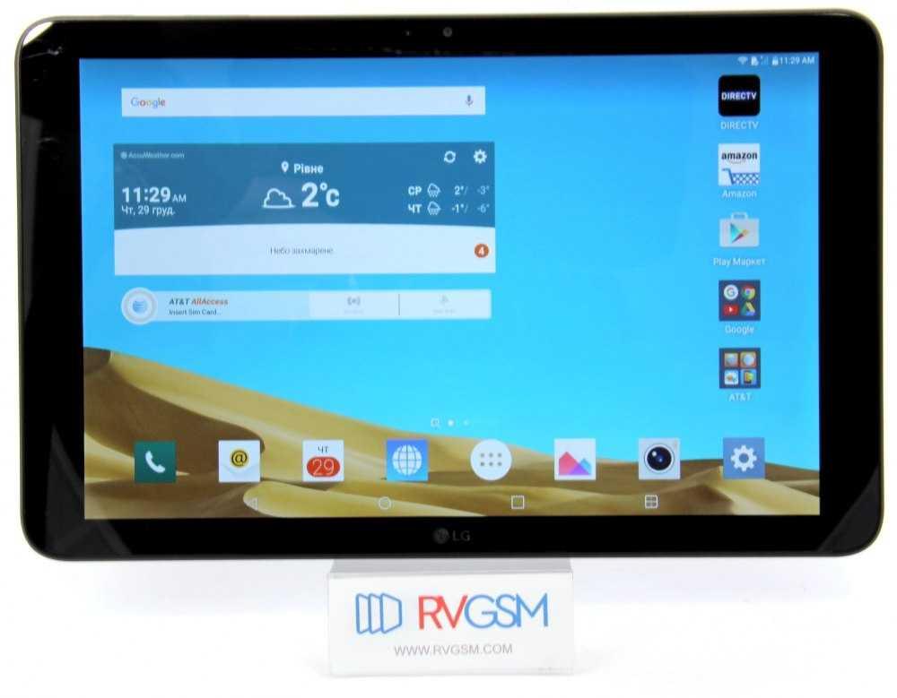 Обзор планшета lg g pad 5 10.1 с основными характеристиками