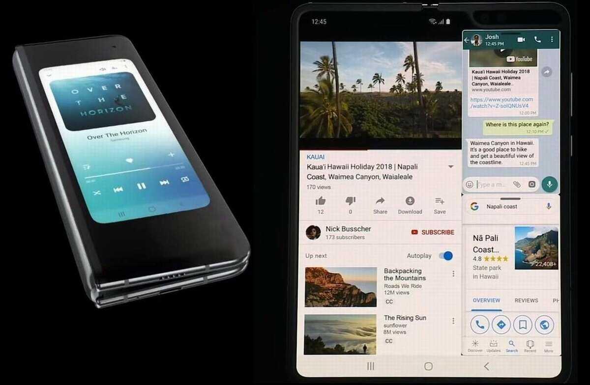 Гибкий смартфон samsung начал продаваться в россии по бешеной цене - cnews