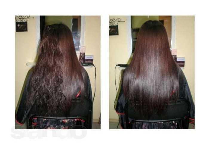 Как выпрямить волосы утюжком, феном и без них в домашних условиях
