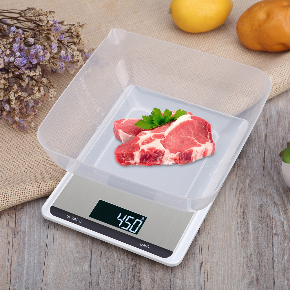 Как выбрать кухонные электронные весы