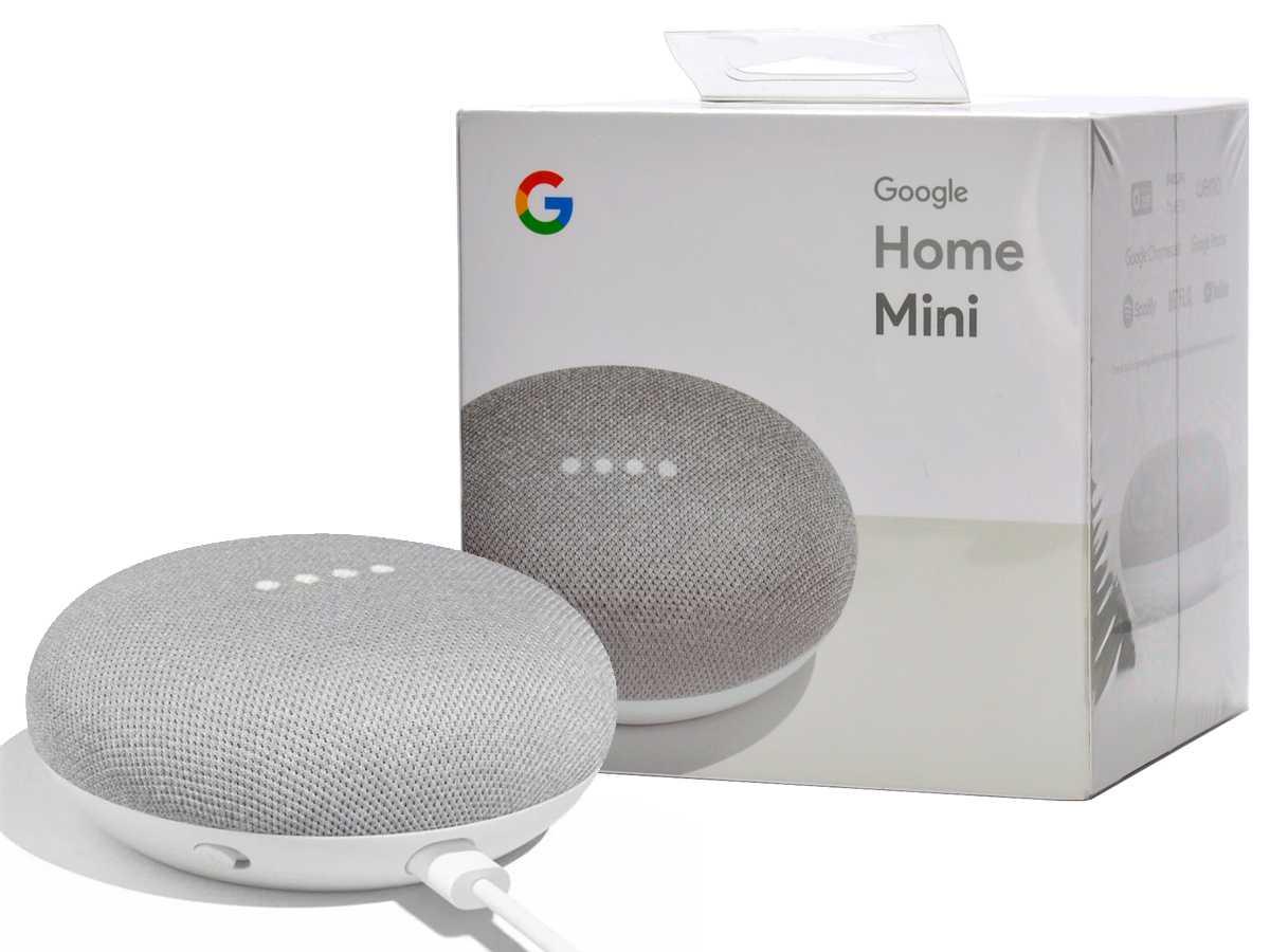 Обзор google home mini