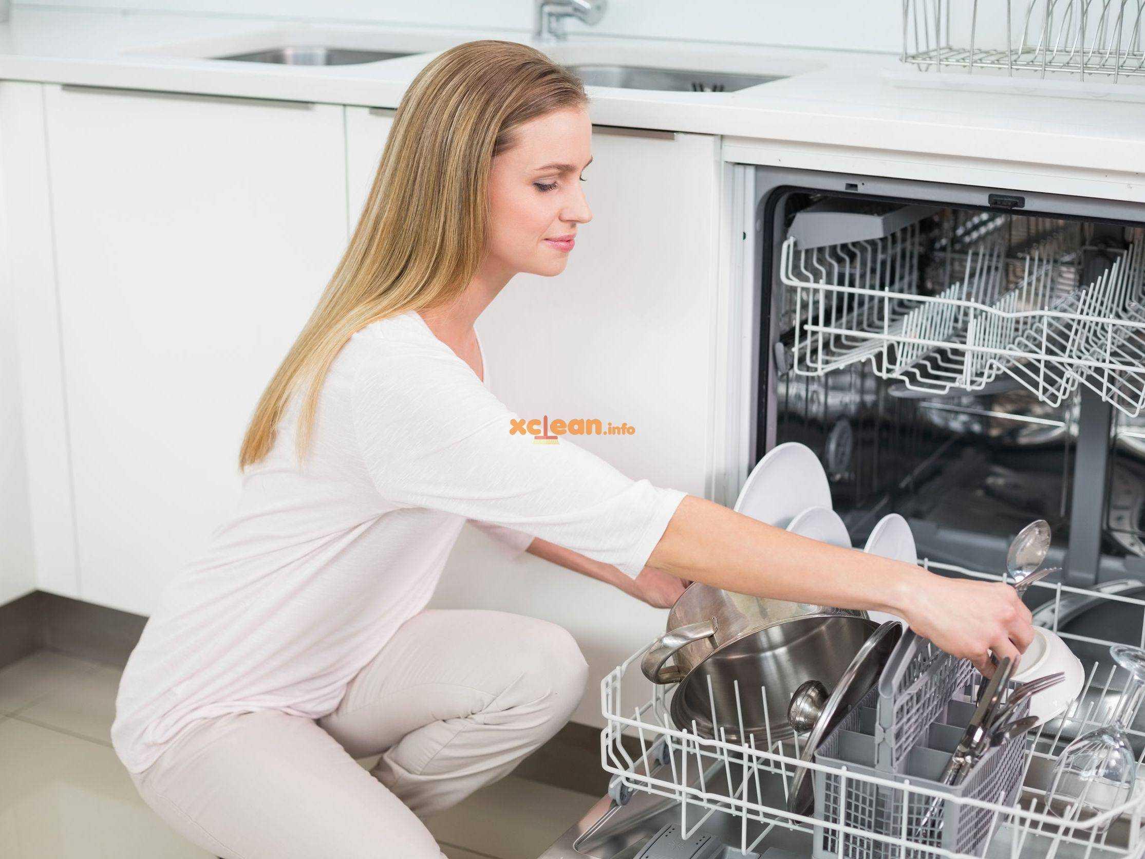 Как самостоятельно почистить посудомоечную машину в домашних условиях