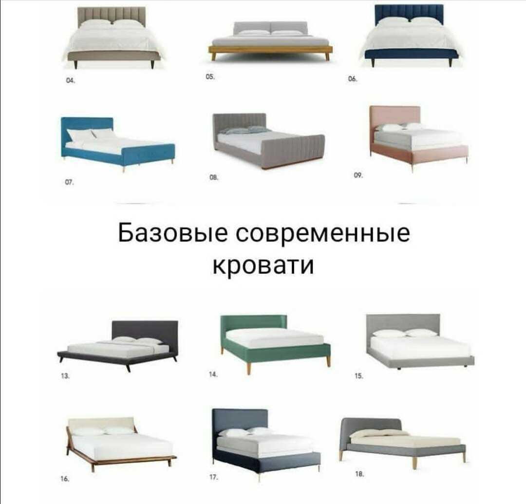 Как выбрать кровать двуспальную: подробная информация