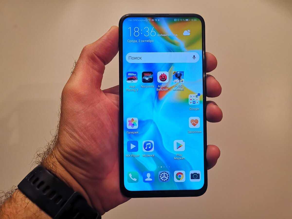 Обзор смартфона huawei p smart z: огромный экран и выдвижная камера / смартфоны