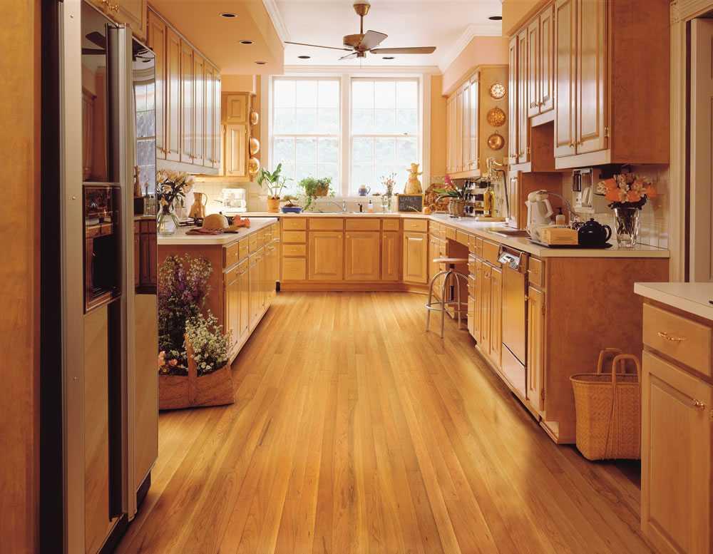 Как выбрать напольную плитку для кухни?