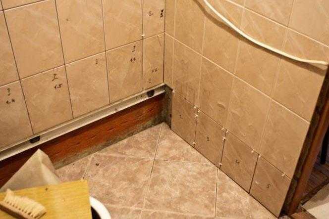 Как соотнести размер ванной комнаты и кафельной плитки