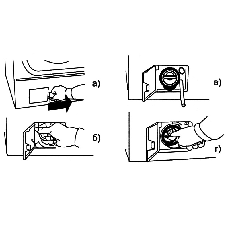 Как почистить фильтр в стиральной машине indesit, samsung, lg, bosch