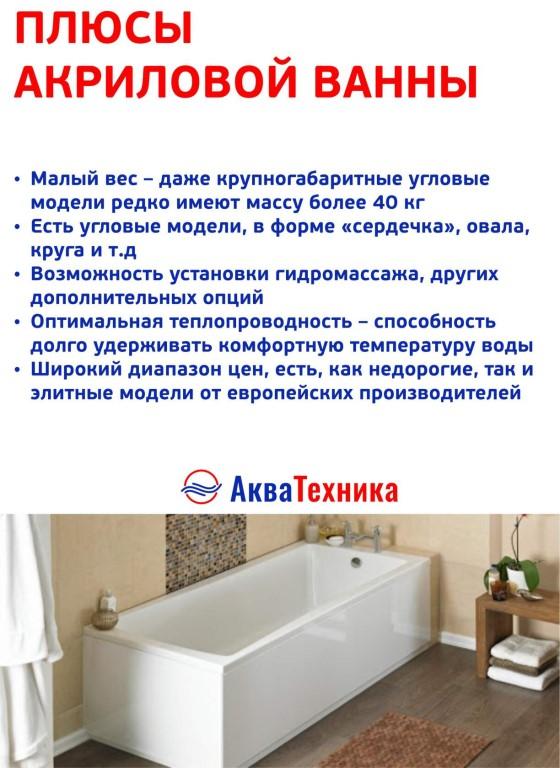 На что обращать внимание при выборе акриловой ванной Как отличить качественный товар от некачественного Ответы в статье