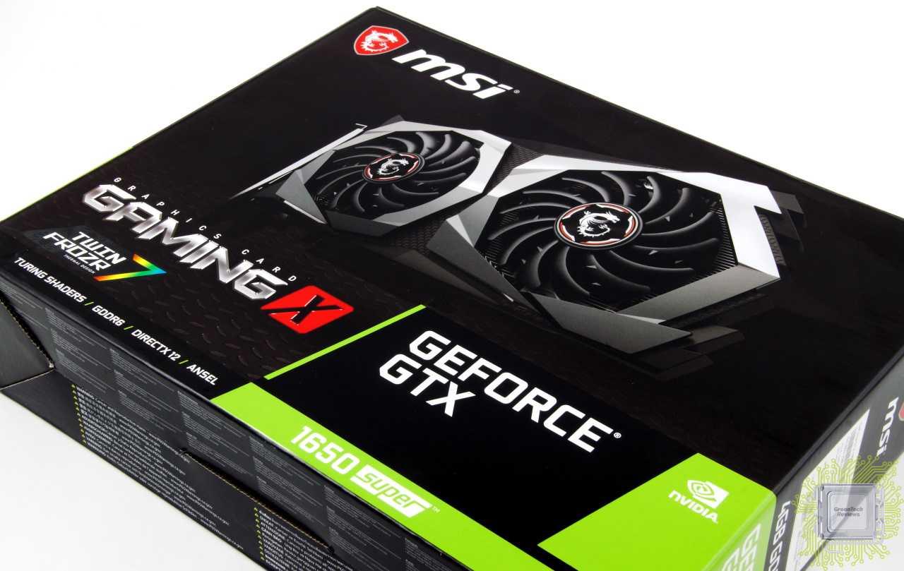 Компания MSI представила на суд общественности новые видеокарты на базе графического процессора GeForce® GTX® GTX 1650 с микроархитектурой Turing Как заявляет