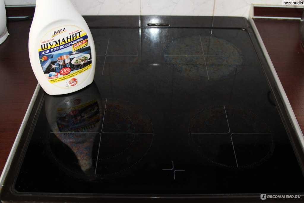 Чем чистить стеклокерамическую поверхность плиты: самые эффективные способы и средства