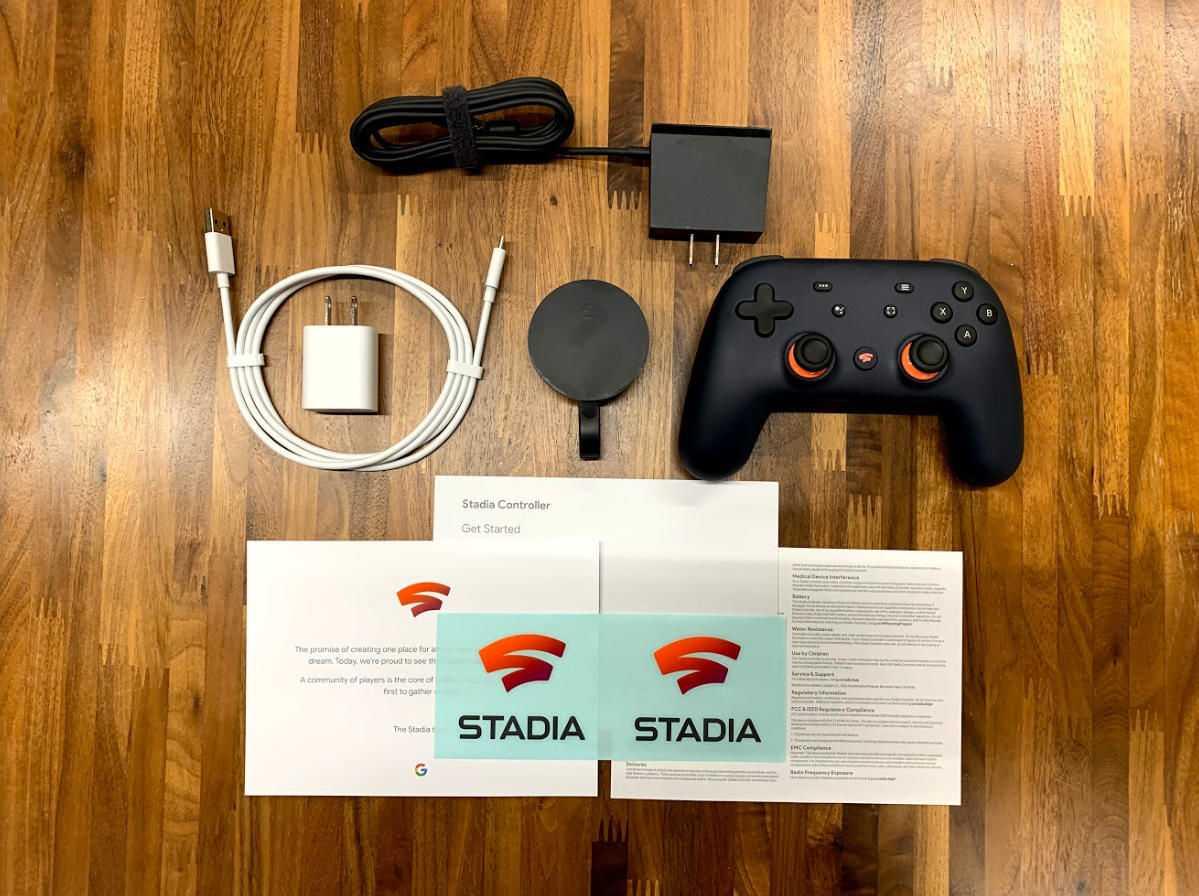 Предварительный обзор google stadia controller