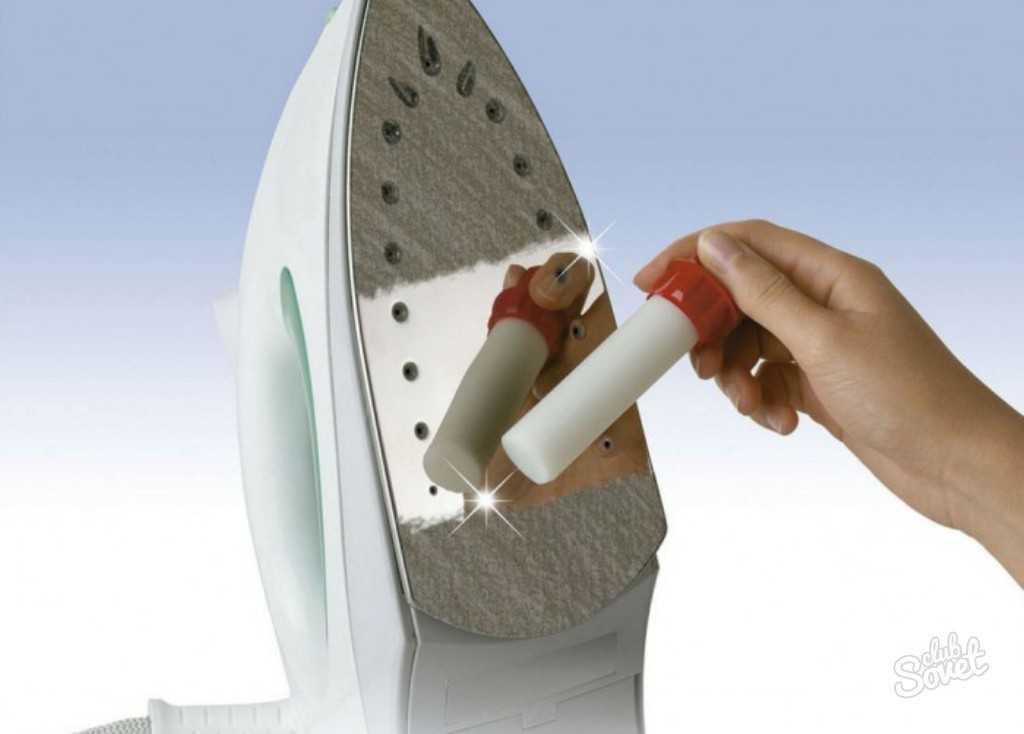 Как очистить керамическую подошву утюга в домашних условиях: советы, видео