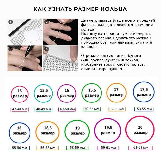 Как определить размер кольца (79 фото): узнать размер пальца, таблица для колец российского производства