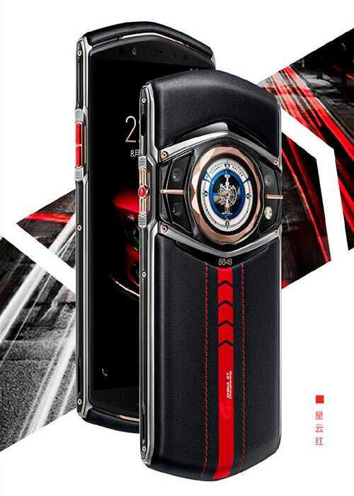 Компания 8848 готовит смартфон titanium m6 на snapdragon 865