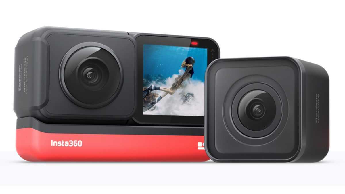 Insta360 представила первую в мире модульную экшн-камеру insta360 one r