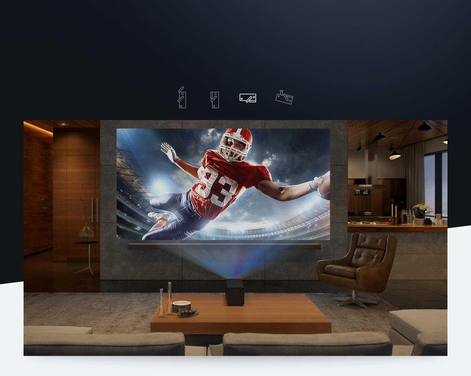 Обзор 4k-проектора lg cinebeam hu80ksw: здравствуй, огромный экран! / мониторы и проекторы