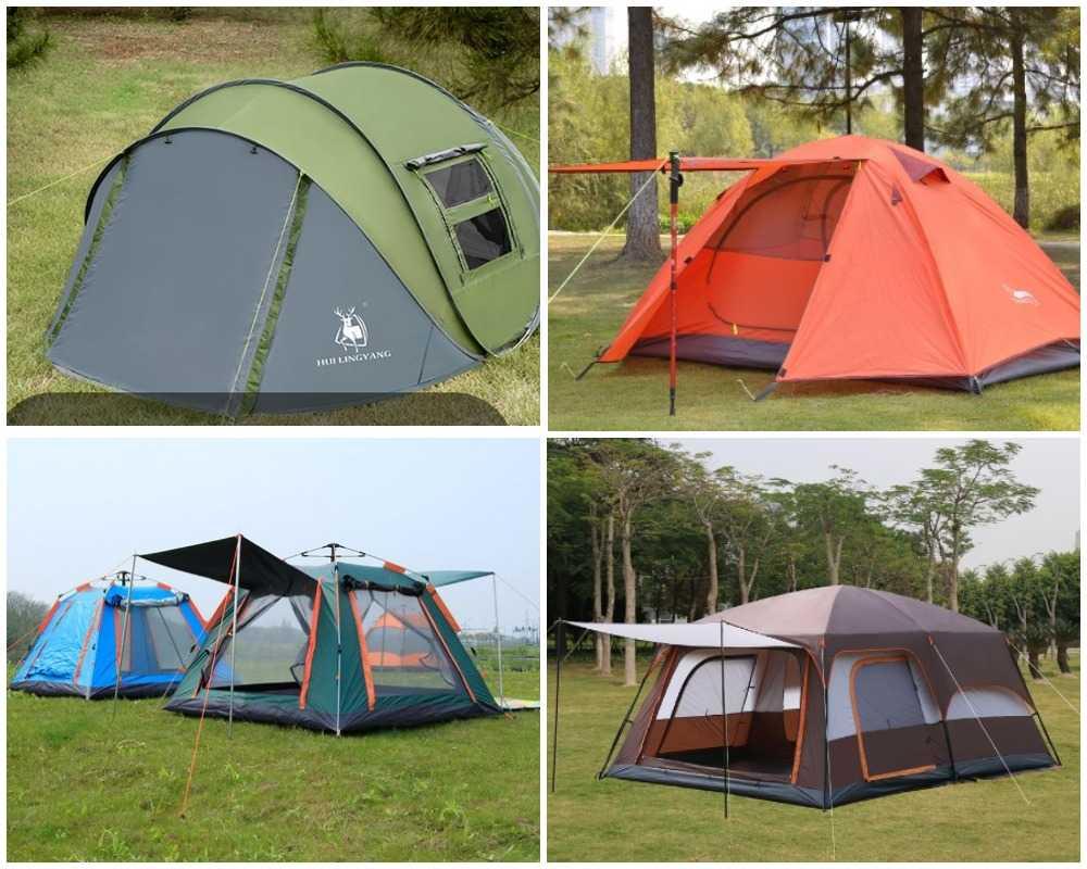 Как установить палатку: правила и основные нюансы