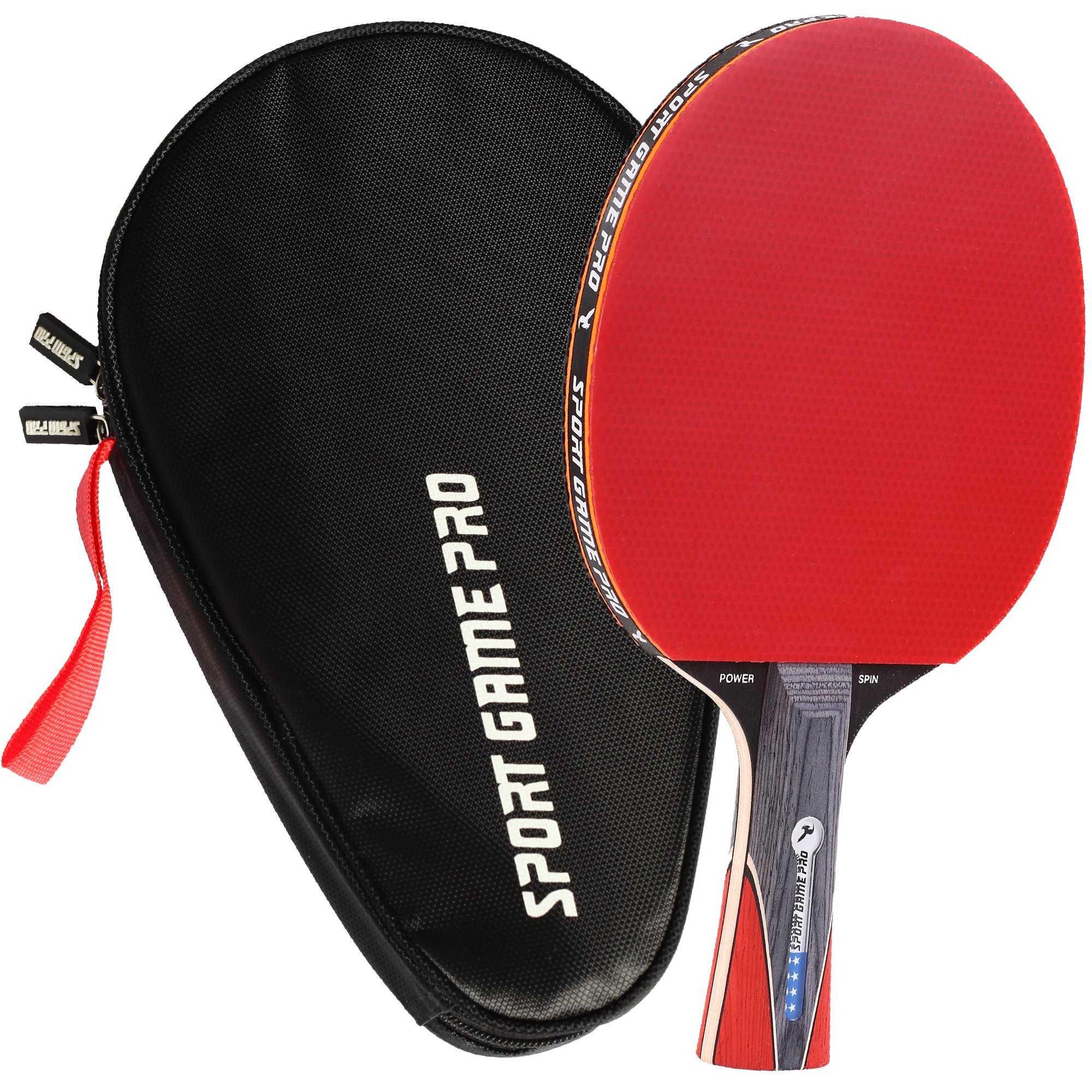 Ракетки для настольного тенниса - виды, характеристики, как выбрать