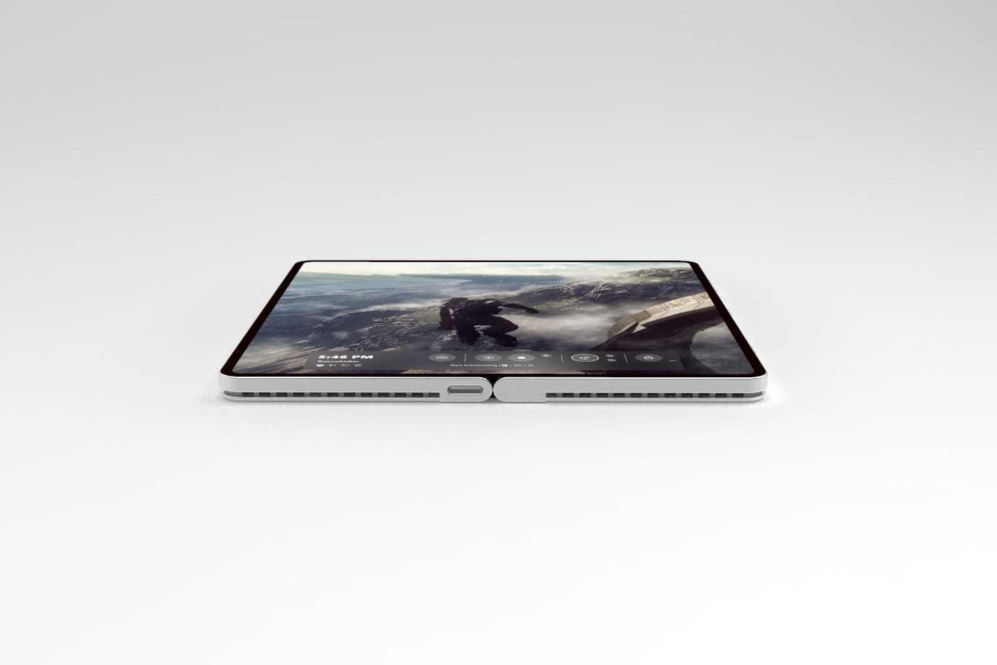 Еще летом прошлого года выяснилось что компания Microsoft приступила к разработке сгибающегося смартфона Спустя какое-то время проект Andromeda был прекращён Вместо