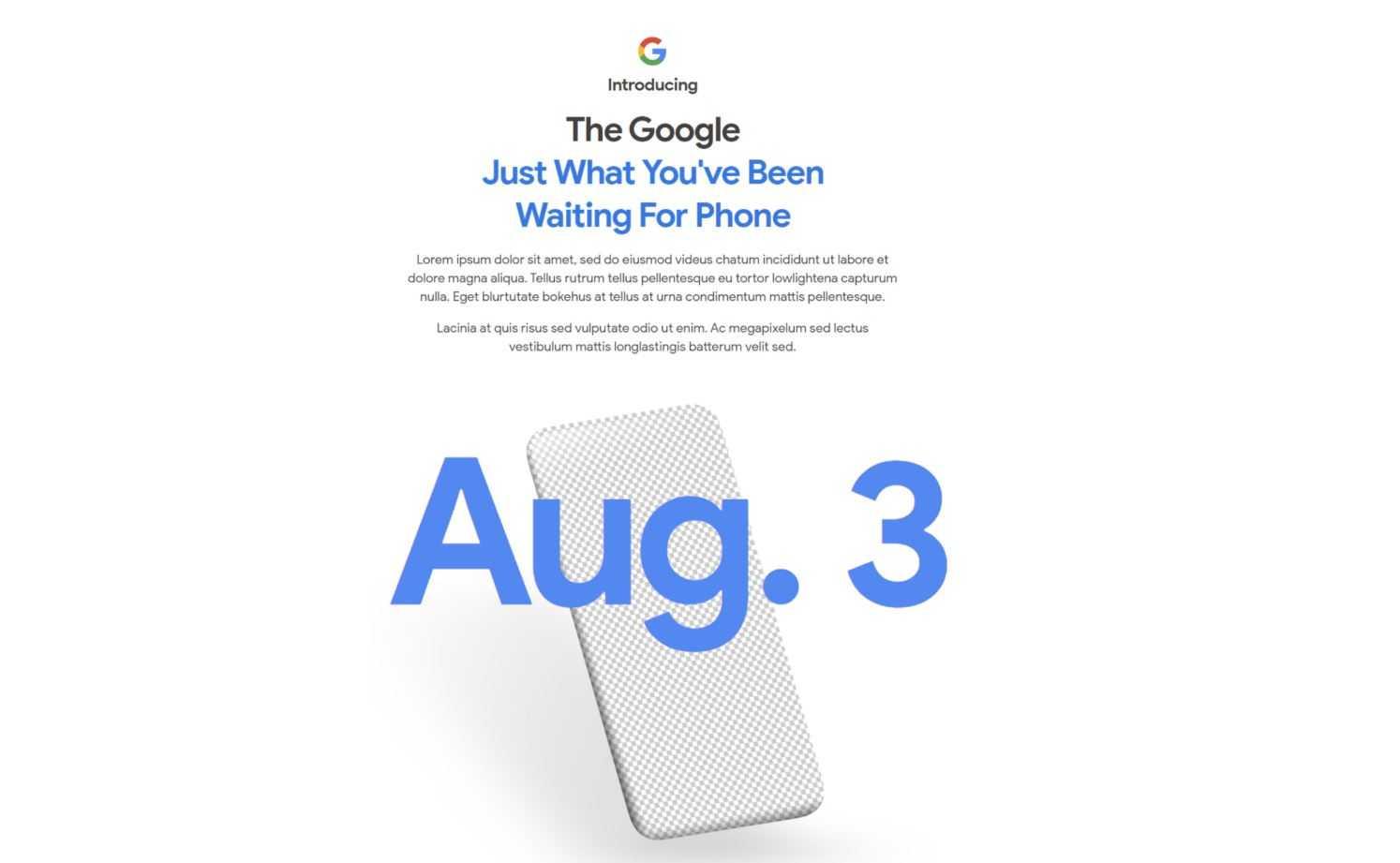 Google презентует pixel 5 и pixel 4a 5g на презентации 30 сентября, но это не точно - телеграф ► последние новости