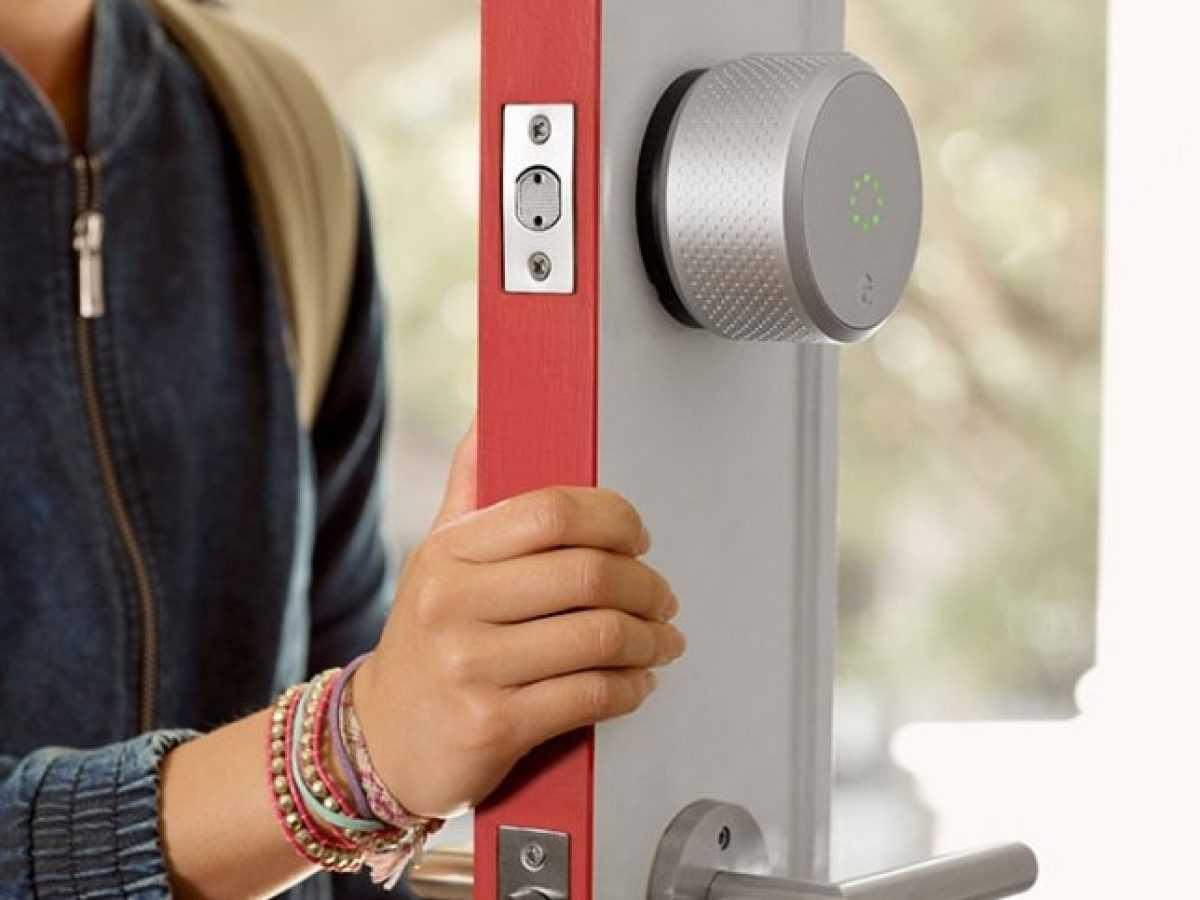 Aqara n100. распаковка, установка на китайскую железную дверь